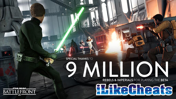 starwars battlefront played by 9 million people